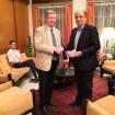 Fekete Károly püspök látogatást tett Magyarország nagykövetségén Új-Delhiben