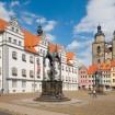 Fekete Károly püspök Wittenbergbe látogat